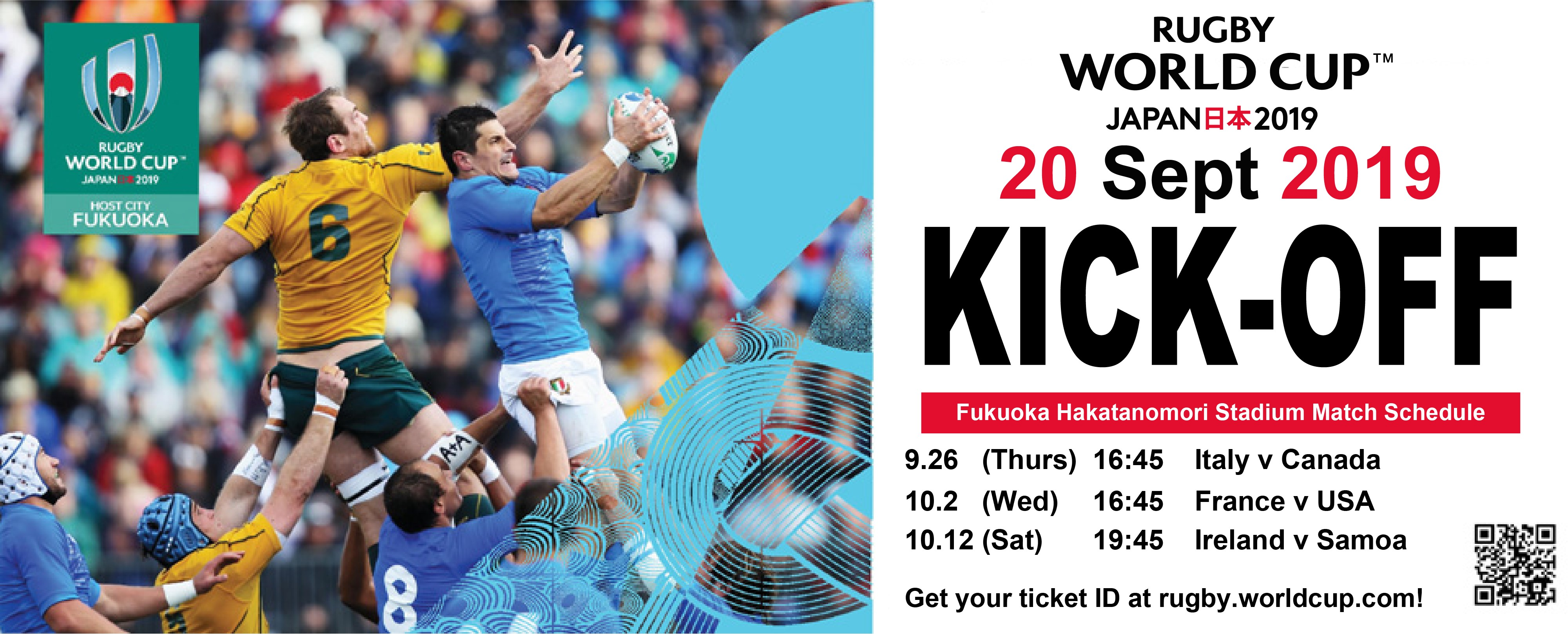 Rugby World Cup 2019 Welcome To Uoka